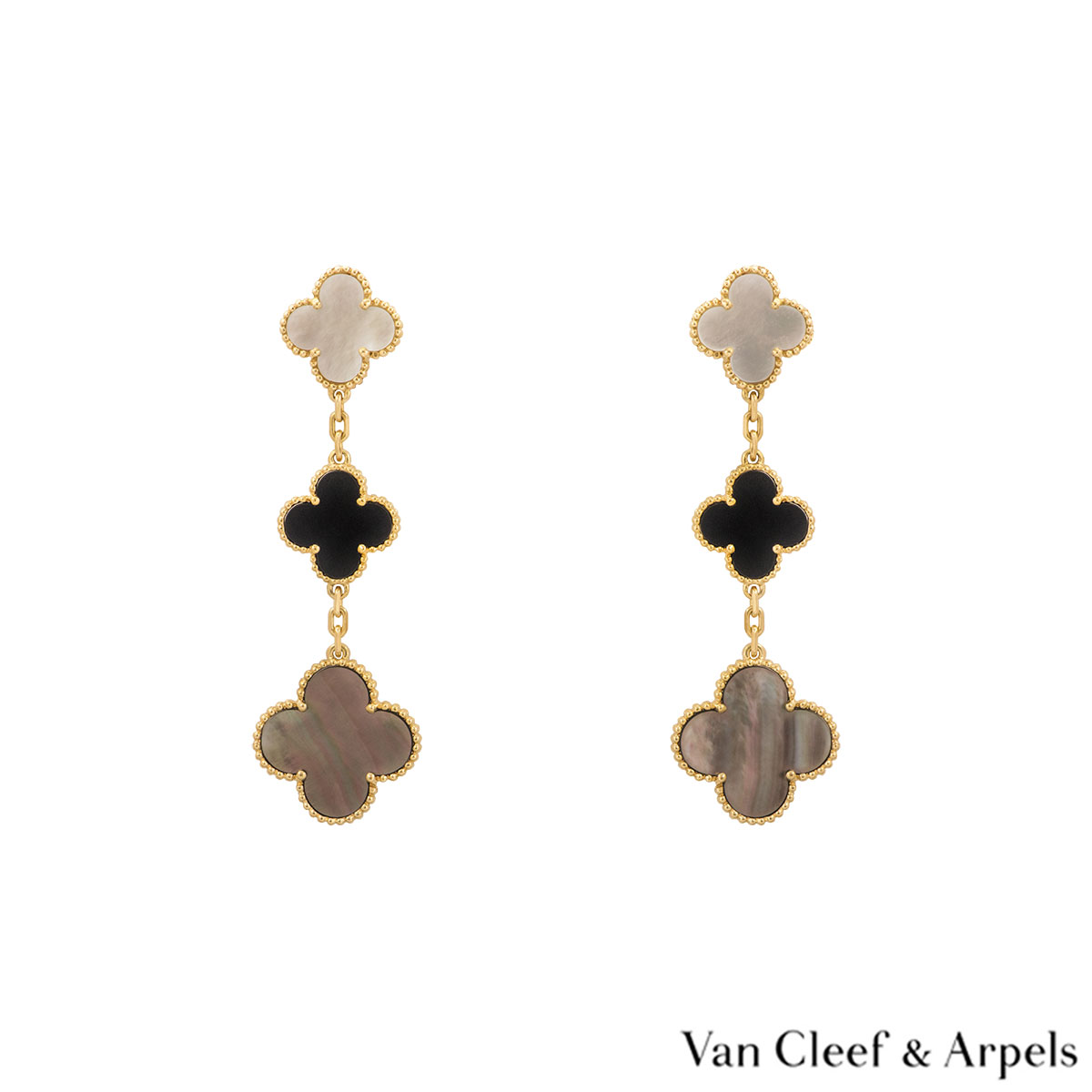 Van Cleef & Arpels Magic Alhambra Earrings VCARD79000